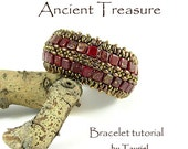 Ancient Treasure beadwoven bracelet pdf tutorial