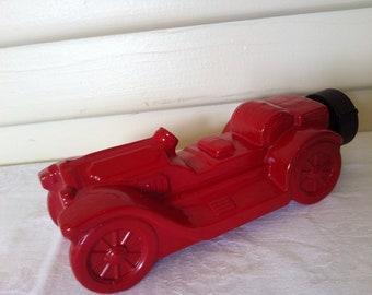 Vintage Avon Bottle- Red Antique Car
