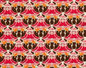 Tina Givens for Free Spirit, Pagoda Lullaby, Pagoda Hill in grenadine, 1 yard