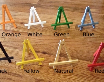 Mini Easel Custom Color for Aceo or Art Mini Paintings