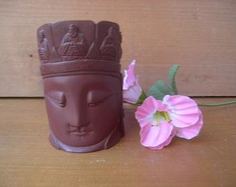 Vintage tiki box container