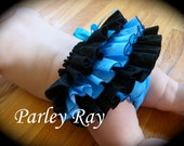 A Beautiful Parley Ray Fancy Full Ruffled Baby Bloomers / Diaper Cover / Photo Props