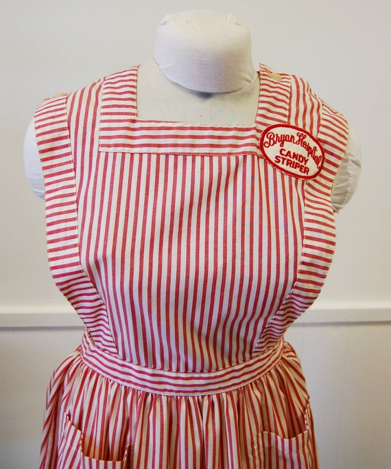Vintage 1950s or 60s Candy Striper Uniform Bryan Hospital Nebraska