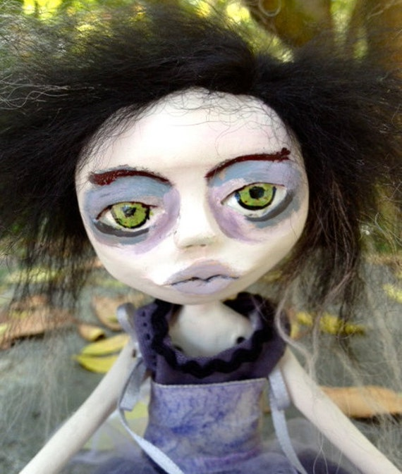Polymer Clay Art Doll Jane The Dreamer