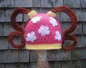 team umizoomi crochet hat-halloween cap-milli hat-umizoomi birthday