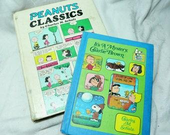 2 Vintage Snoopy Peanuts Classics Comic Books,