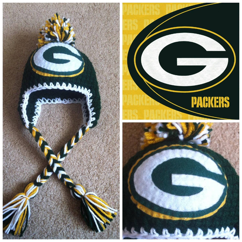 Crochet Greenbay Packers Beanie
