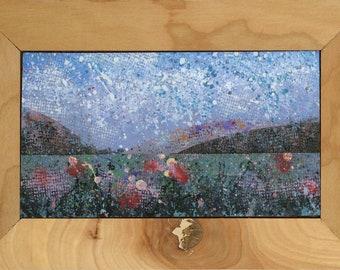 Framed Landscape 10x6.75