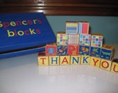 Personalized Baby Block Toys