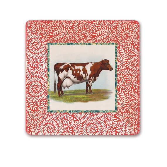 Items Similar To Cow Print Farmhouse Decor Mothers Day Gift Kitchen Wall Hanging