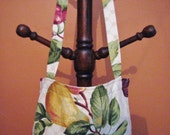 Apron Hand Crafted from Vintage Cotton Fabric