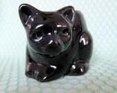Black Cat Candle Holder