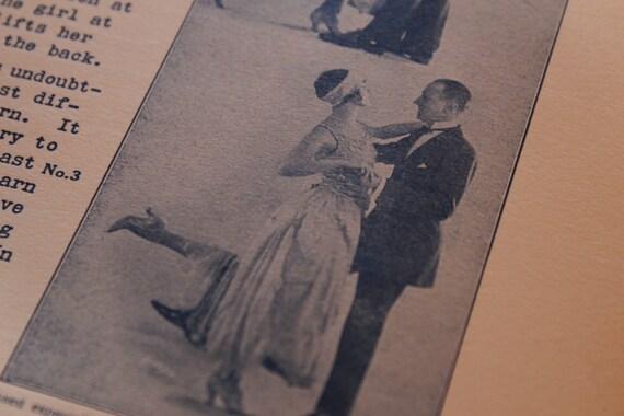 Original, Vintage 1924 Arthur Murray The Modern Dances II & III