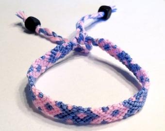 Pregnancy and Infant Loss Awareness - October 15 - Fish/Ribbon - Pastel Pink & Blue