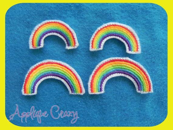 Rainbow Feltie Digital Design