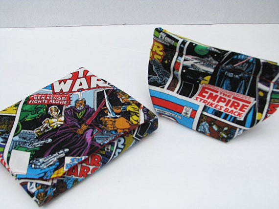Lunchbox set  1 Star Wars sandwich wrap and 1matching snack bag