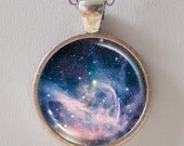 Nebula Pendant Necklace - Star Formation Region of Carina Nebula - Galaxy Pendant Series (G011)