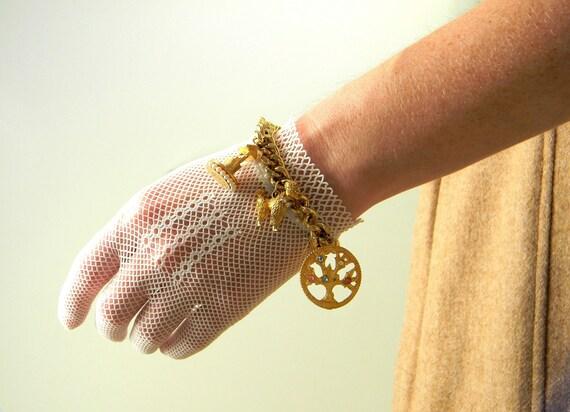 RESERVED FOR ZOEE Vintage Gold Charm Bracelet