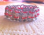 Recycled Soda Tab Bracelet - Free Shipping In USA