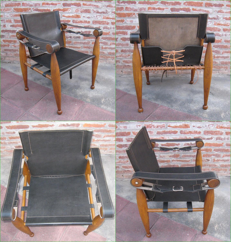 Amancio Williams Chair Safari Camp Handmade Chair In Leather