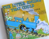 Storybook Journal Spiral Notebook The LITTLE Engine That Could INSPIRATIONAL STORY Graduation Promotion