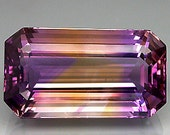 100% natural ametrine drilled 20.71 cts