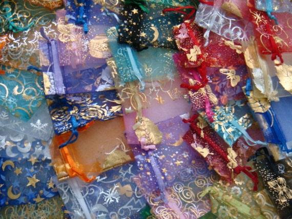 Surprise me Random choice of 25 Organza Bags