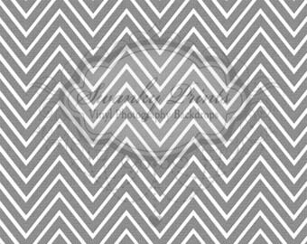 LARGE 6ft x 5ft Vinyl Photography Backdrop Neutral Gray Chevron Texture Zig Zag