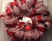 Arkansas Razorback Vanity Plate Wreath