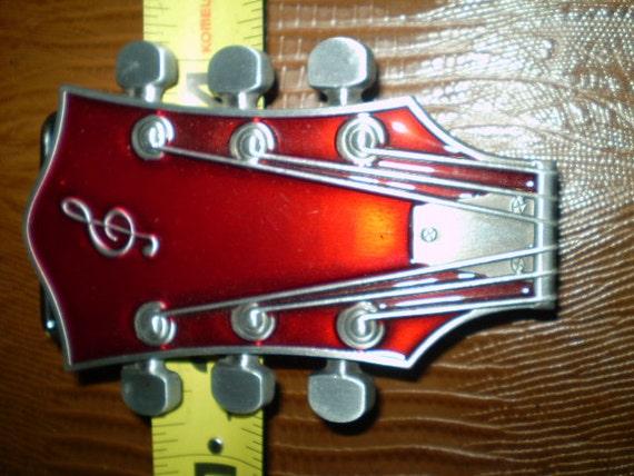 Classic Guitar Headstock Buckle