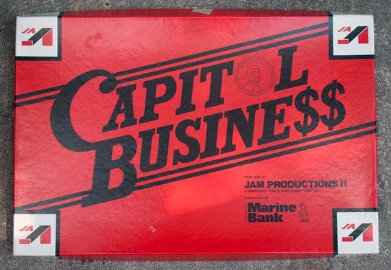 Capitol Business Vintage Board Game - Springfield, IL - Junior Achievement Game