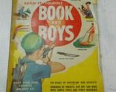 1950s Popular Mechanics Build it yourself book for boys