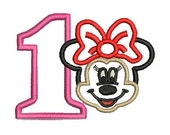 Minnie Mouse Applique, Minnie Mouse Applique, Minnie Mouse Birthday, Disney Embroidery (176) Instant Download