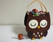Handmade Owl Gift Bags - Pack of 4
