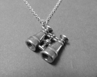 Telescope Charm Necklace