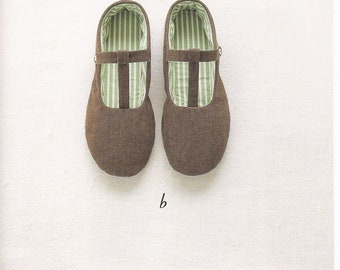 Sewing Slippers PDF Patterns, Free Shipping No.43