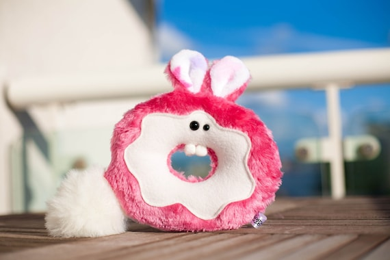 Pink Bunny Donut