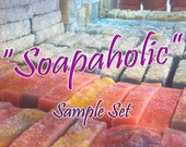 SOAPAHOLIC - SAMPLE SET - Try 5 Different Luxury Artisan Products - by Simple Minded Bath Company -