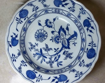 Meissen Blue Onion Bowl