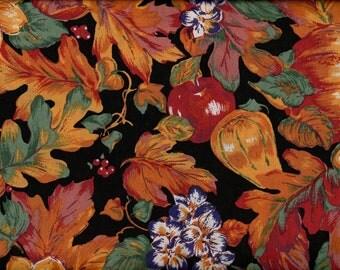 Falling Leaves, Fall Fabric, Harvest Fabric, Leaf Fabric, Thanksgiving Fabric, 03027