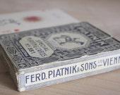 PIATNIK Cards // Playing cards // Italian edition // 1933 //  Ferd. Piatnik & Sons LTD. Vienna.
