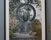 Buddah--signed matted framed 20x30 photo
