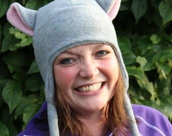 Instant download_PDF sewing pattern - Fleece hat pattern - Vaappi's hat -  fox, cat, aviator