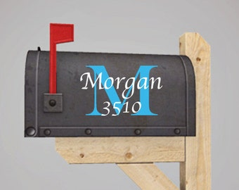 Monogrammed Vinyl Decal for Your Mailbox by Memories in a Snap