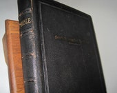 Antique Leather Bound Holy Bible 1925