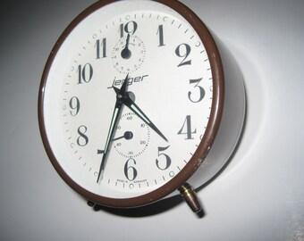 German Vintage Jerger Alarm Clock