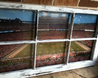 Collegiate Football Window (Vanderbilt, Oregon,  Arkansas)