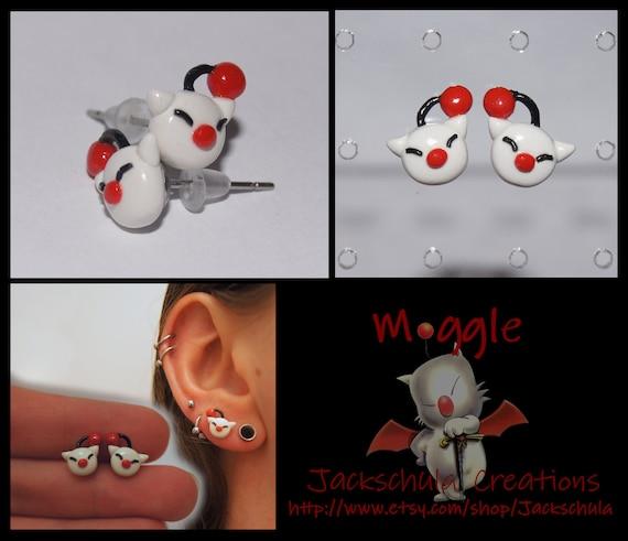 Final Fantasy Mog Earrings
