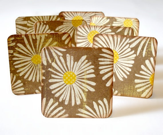Blank floral mini note cards Set of 8 Gift cards Lunchbox notes