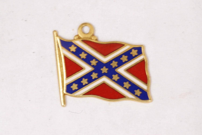 confederate flag charm